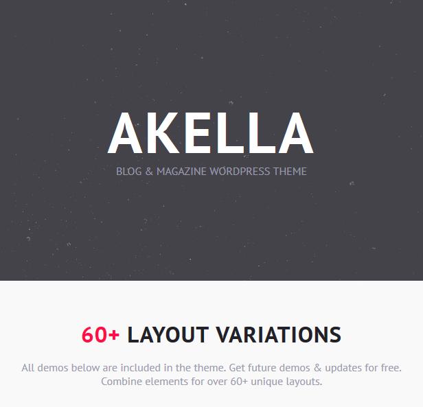 Akella - Personal Blog & Magazine WordPress Theme - 1