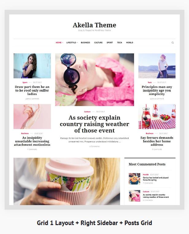 Akella - Personal Blog & Magazine WordPress Theme - 2