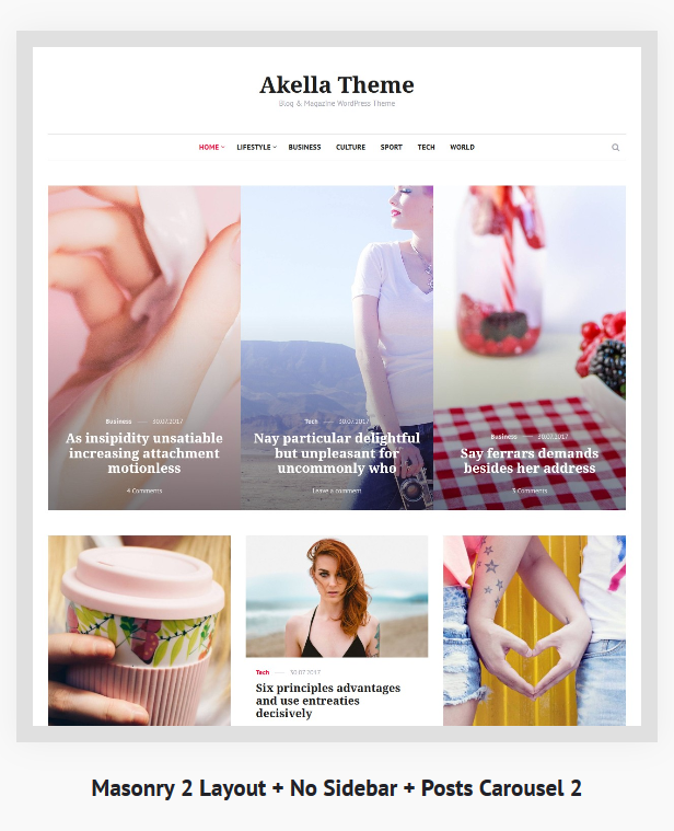 Akella - Personal Blog & Magazine WordPress Theme - 4