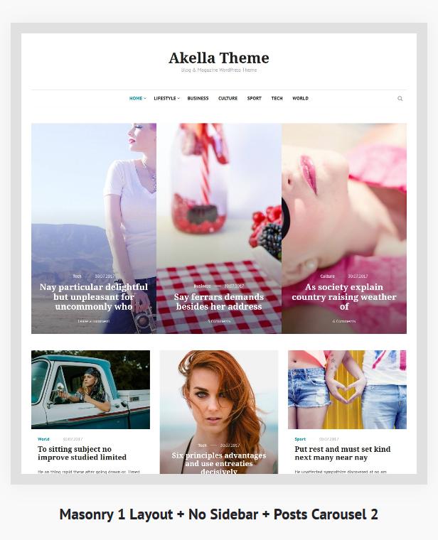 Akella - Personal Blog & Magazine WordPress Theme - 5