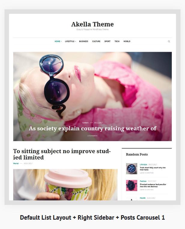 Akella - Personal Blog & Magazine WordPress Theme - 6