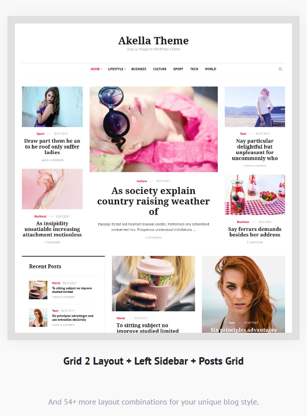 Akella - Personal Blog & Magazine WordPress Theme - 7